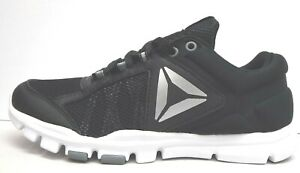 Reebok Size 7.5 Black Sneakers New Womens Shoes