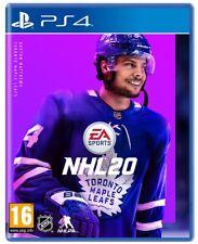 NHL 20 PS4 GIOCO PLAY STATION 4 VIDEOGIOCO HOCKEY AMERICANO SPORT EU 2020 NUOVO