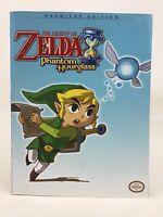 Legend of Zelda Phantom Hourglass Premiere Edition Strategy Guide Book Prima