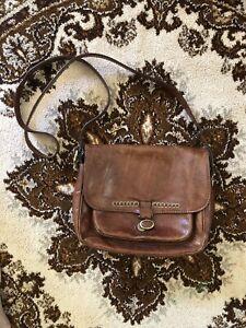 Vintage The Bridge Leather Handbag