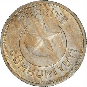 Turkey 1937 10 Kurus TONED BU