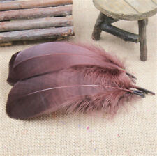 25-100pcs natural goose feathers (soft) 5-7inches/12-18cm Clothing & Accessories