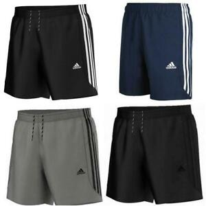 Adidas Essentials Mens 3 Stripe Chelsea Shorts Sports Gym Climalite Original