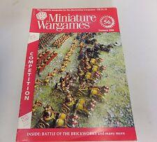 Miniature Wargames Number 56 January 1988 oop SC