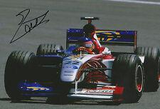 """Jacques Villeneuve """"BAR"""" Autogramm signed 20x30 cm Bild"""