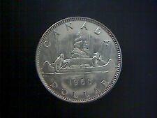 1968 CANADA  VOYAGEUR  DOLLAR COIN, NICKEL CONTENT COIN