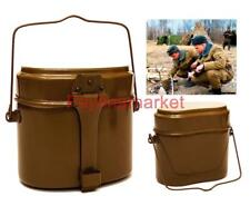 ORIGINAL Army USSR Mess KIT Military LUNCH BOX Soldier RUSSIAN Kettle COOKING