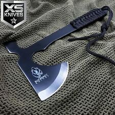 "9"" Buckshot Tomahawk Throwing Tactical Hunting Survival Axe W/ Paracord Handle"
