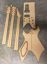 Guitar Building Templates Warlock Bolt on Guitar for Luthier