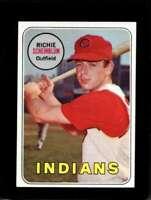 1969 TOPPS #479 RICHIE SCHEINBLUM EXMT INDIANS  *XR12257