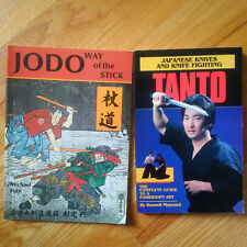 Japanese Knives and Knife Fighting - Tanto - Jodo Books