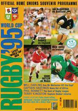 1995 RUGBY WORLD CUP PUBLICATION - Official Home Unions Souvenir Programme