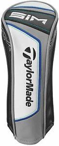 TaylorMade Golf 2020 SIM Fairway Wood Head Cover - Black/White/Blue