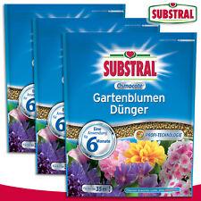 Substral 3 x 1500 g Osmocote Gartenblumen Dünger