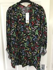 BNWT F&F CASUAL COLLECTION THIS SEASON FLORAL TOP SIZE 22