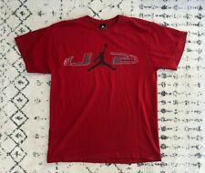 Nike Air Jordan Men's Vintage Retro Mj 23 Red Basketball T Shirt | Medium