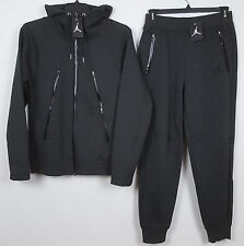 NIKE AIR JORDAN TECH FLEECE SET HOODIE + SWEATPANTS CHARCOAL GREY NWT (SIZE 3XL)