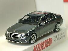 Wiking Mercedes E-Klasse (W213), grau-met. - 0227 02 - 1/87