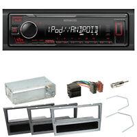 Kenwood KMM-205 USB Autoradio Einbauset für Opel Omega B Meriva A Agila Vivaro