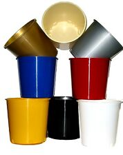 WHOLESALE LOT  50 OFFERING BUCKETS ICE BUCKETS MFG USA MIX OF COLORS