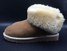 12B8 Ugg 1006493 Selene Many Bailey  Slip on Cozy Comfy Boots Women Shoes Size 8
