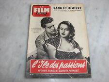 *** Film Complet n° 477 (09/09/1954) - L'Ile des Passions