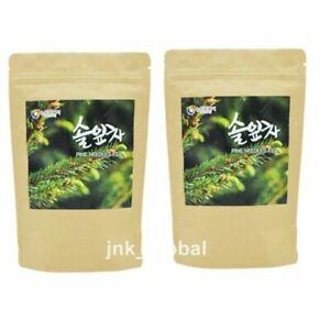 60Bags Dried Pine Needle Tea Korean Medicinal Herbal Anti-aging Healthy