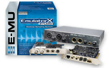 e-mu Emulator X Studio 24-bit/192kHz PCI Turbo Sampler + Emulator X3 Very Rare!