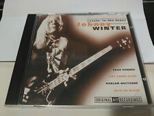 CD JOHNNY WINTER - LIVIN' IN THE BLUES - WISE BUY NETHERLANDS VG+
