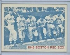 1975 TCMA Cards of the 1946 Boston Red Sox Team Record - MINT - Ted Williams