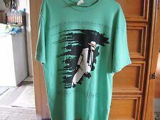 "Rare Michael Jackson ""Smooth Criminal"" T-Shirt Green Med"