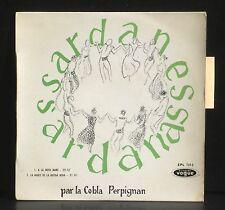 """La Cobla Perpignan Sardanes 17 cm 7""""  LP & CV EX"""