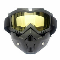 Full-Face Tactical Goggles Mask Gel Blaster Paintball Protective Glasses Outdoor