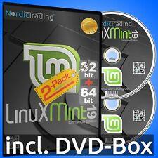 Linux Mint 19.3 Cinnamon 2-Pack (32+64bit) Betriebssystem Markenware