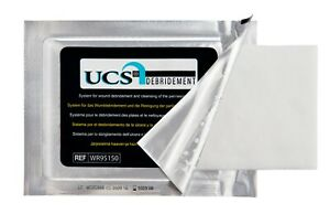 medi UCS debridement cloth wounds cleansing moisturising sterile soothing ulcers