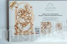 UGears TIMER Self-propelled mechanical wooden model KIT 3D puzzle