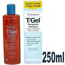 250ml TGEL T/GEL THERAPUTIC SHAMPOO  NEUTROGENA NEW T GEL Itchy Scalp Treatment