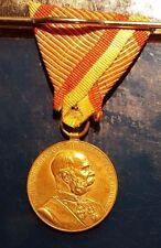 Original Austria Signvm Memoriae Medal 1898 (Emperor Franz Joseph)