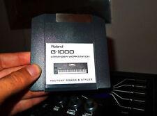 factory iomega zip floppy cartridge Roland styles fr g1000 G 1000 em2000 EM 2000