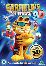 Garfield Pet Force 3D [DVD][Region 2]