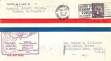 Canada Golden Jubilee Flight Toronto - Kingston with  cachet- WW 7311
