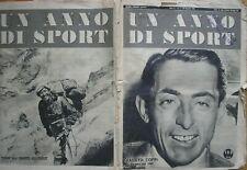 FAUSTO COPPI TENSING EVEREST UN ANNO DI SPORT 1953 MATCH ANNO II N.1 MENSILE