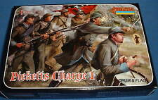 STRELETS Set 148 - PICKETT'S CHARGE 1. CONFEDERATE INFANTRY - ACW - 1/72 SCALE