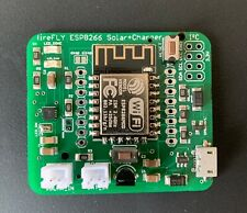 fireFLY IoT Board ESP8266 + Solar Charger - Temp Sensor ds18b20 - Deep Sleep