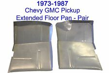 73 87 Extended Floor Pan Set, Fits Chevy GMC, Truck, Suburban, Blazer, Jimmy