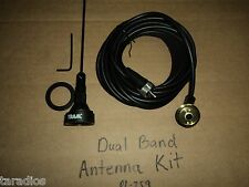 Motorola Nmo Vhf Uhf 144 170 430 470 Mhz Dual Band Antenna Kit 2 Meter 70cm