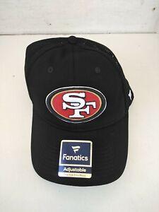 New San Francisco 49ers NFL Football Pro Line Fanatics Snapback Fit Cap Hat