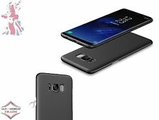 Ultra Thin Hard PC Back Cover Slim Matt Case For Samsung Galaxy S8 - Black