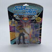 PLAYMATES Star Trek GEORDI LaFORGE  Action Figure 1993 vintage rare space fan US