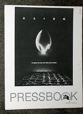 Alien original 1979 45 page pressbook Ridley Scott/Sigourney Weaver